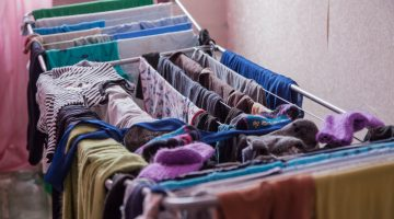 De ce uscatul rufelor in casa prezinta un pericol pentru sanatate