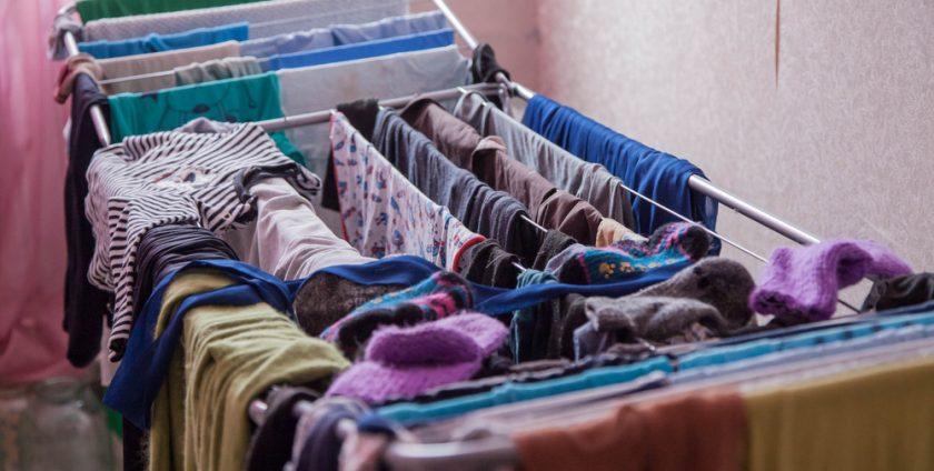 Uscarea rufelor in casa - un pericol pentru sanatate