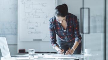 Solutii ingenioase pentru amenajarea rapida a unui birou